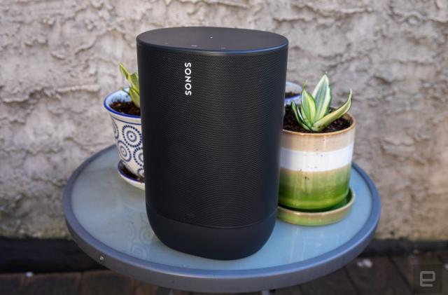 The Sonos Move portable speaker is cheaper than ever ahead of Black Friday