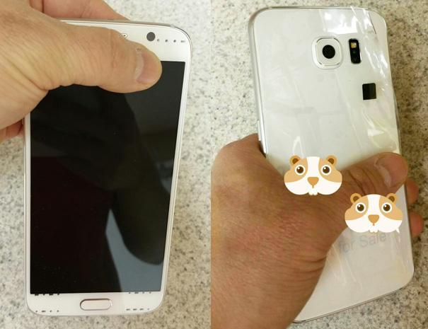 Samsung Galaxy S6 leak hints at a slim, glass-backed body