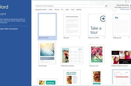 Microsoft details Office for Windows RT: shipping on devices as a preview release, upgrade coming later