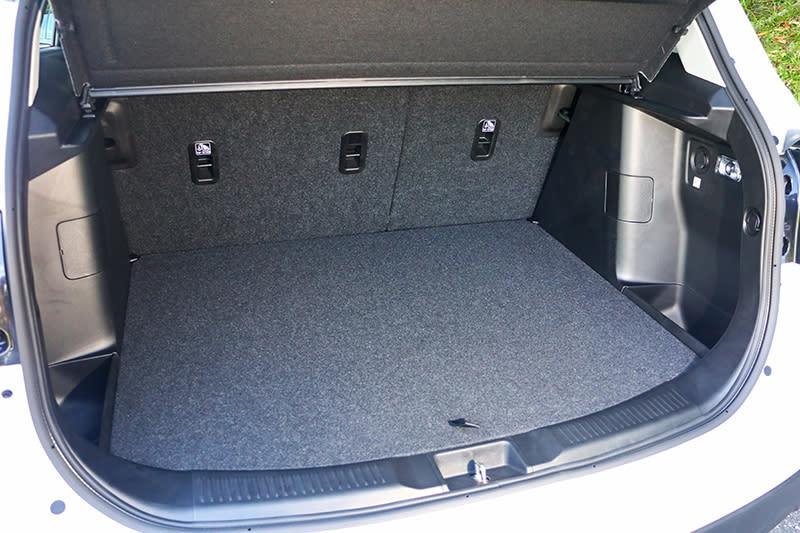 一般狀態下行李廂便有430公升容積。
