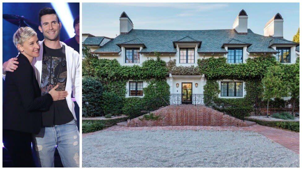 Ellen Degeneres buys Adam Levine's house for $45 million