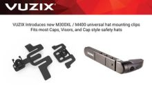­­­­Vuzix Expands M300XL/M400 AR Smart Glasses Mounting Accessory Options