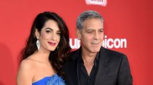 Amal Clooney and her mom stun at George's 'Suburbicon' premiere