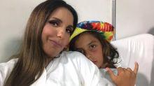 Aos 8 anos, filho de Ivete Sangalo já segue os passos da mãe