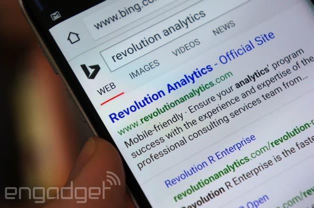 Microsoft will push mobile-friendly websites in its search results