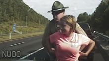 Tennessee highway patrol releases dashcam footage clearing its officer of sexual harassment