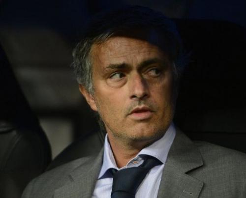 El entrenador del Real Madrid, el portugués José Mourinho, durante un partido el 18 de septiembre