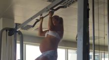 Mum Who Did Chin Ups While Heavily Pregnant Sparks Debate About Exercising With A Bump