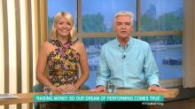 Phillip Schofield and Holly Willoughby donate £5000 to special education school