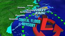 Flood Advisories Remain in Effect Across the East Coast