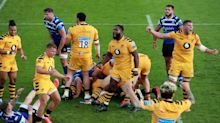 Injury-hit Wasps rally to beat Bath, Sarries hammer Exiles