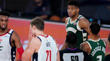 Twitter reacts to Giannis Antetokounmpo's headbutt of Moe Wagner