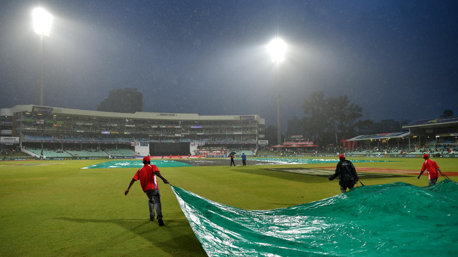 England and South Africa frustrated by Durban downpours