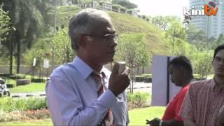 PSM stages protest outside parliament against TPPA, GST