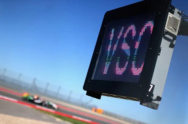 Formula 1 is testing a 'virtual safety car'