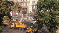 Kiev Authorities Remove Last Maidan Barricades
