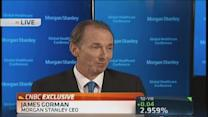 Morgan Stanley CEO: 'Clearly at a recovery point'