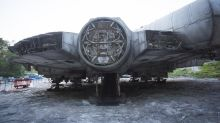 Star Wars 8 Millennium Falcon Found By Urban Explorers