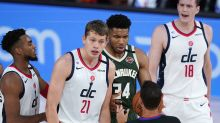Giannis Antetokounmpo ejected after head-butting Wizards forward Moritz Wagner