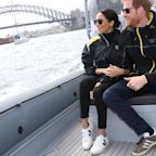 Meghan Markle Wears Sustainable Sneakers to Watch the Invictus Games in Sydney