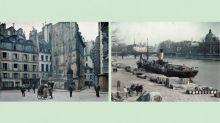 Paris il y a un siècle : la Cité de l'architecture expose les magnifiques autochromes d'Albert Kahn