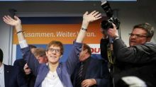 Merkel's conservatives win Saarland vote in boost for national campaign