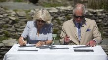 Charles and Camilla visit Cornwall