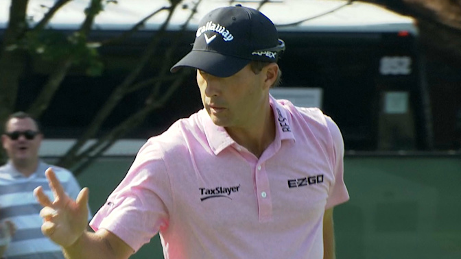 Kevin Kisner rips through Tour Championship, helicopters to Georgia game