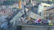Rabia y dolor en Italia por derrumbe de puente en Génova