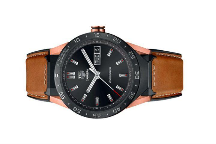 Tag Heuer's Android Wear smartwatch now comes in rose gold ...