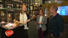 Larry and Kylie tour the Elvis museum
