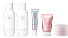 Japanese brand Senka started out with cleansing products and now has a complete skincare range