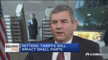 Tariff issues won't come up in commodities like steel, sa...