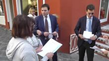 Whirlpool, gli operai a Capri al convegno Confindustria giovani