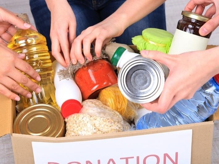 A food drive will take place Saturday in Fairfield.
