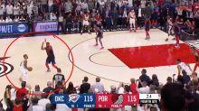 'From the parking lot': Insane buzzer-beater stuns NBA Playoffs