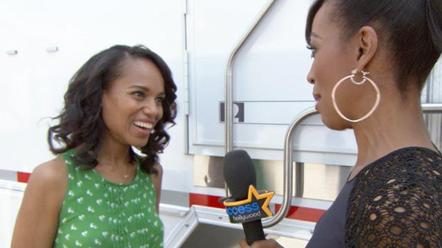 Kerry Washington Reacts To Her 2013 Emmy Nomination