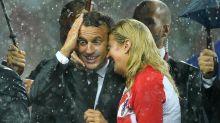 La Copa del Mundo, un golpe de suerte para un Macron de capa caída