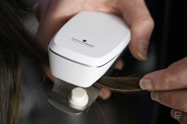 Schwarzkopf's smart salon personalizes your hair care regimen