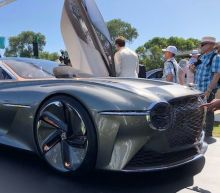 View Photos of the Bentley EXP 100 GT at Pebble Beach