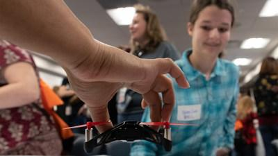News post image: 2,300 students across 55 locations: Collins Aerospace goes big with 'Introduce a Girl to Engineering Day'