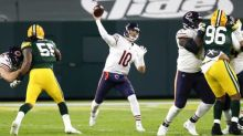 Bears stick with QB Trubisky after rough return to lineup