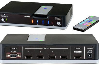Radiient offers up 4-port HDMI switch / hub