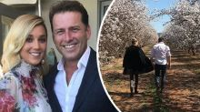 Karl Stefanovic's fiancée hits back with loved-up tribute