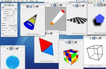 ShapeOnYou - a basic 3D tool with lots of integration