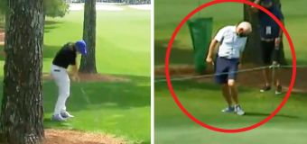 'What are the odds': McIlroy hits dad at Masters