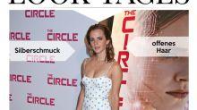 Look des Tages: Emma Watson in märchenhaftem Blumenkleid