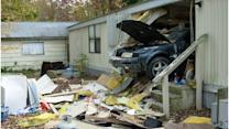 Del. woman injured when car crashes into house