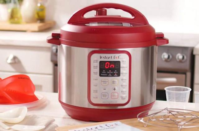 The red Instant Pot Duo is $40 off today