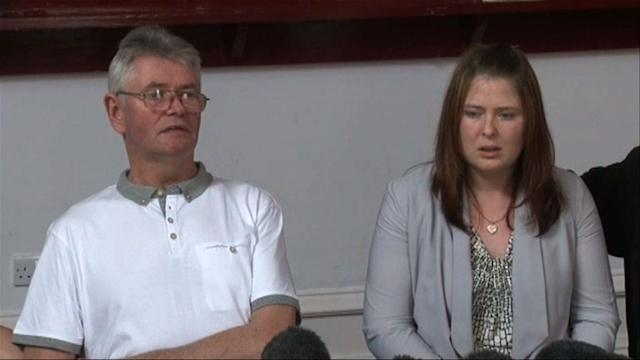 Family of murdered British soldier express grief